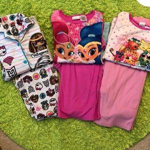 Other - Girls pajama sets